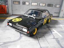 """OPEL Rekord C #201 """" Schwarze Witwe """" Racing 1967 Bos Resin SP 1:18"""