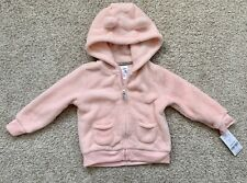 Carters Baby Toddler Girls Zip Hoodie Size 12 Months,...