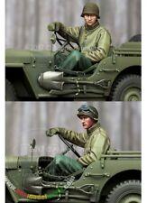 Alpine Miniatures 1/35th U.S. Jeep Driver WW2, NIP, Resin kit number 35242