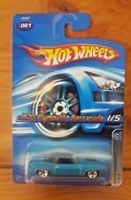 HOT WHEELS 2006 MOPAR MADNESS 1/5 1970 PLYMOUTH BARRACUDA #061 (A+/B)