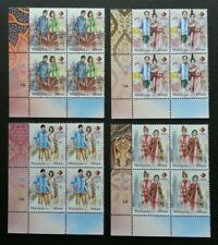 Malaysia Traditional Attire Four Nation Expo 2015 Costumes (stamp block 4) MNH