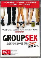 GROUP SEX - TOM ARNOLD - REGION 4 NEW & SEALED DVD