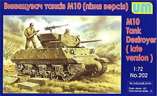 UM 202 M10 tank destroyer, late version 1/72