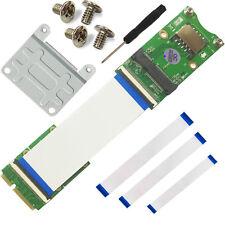 Mini PCI-Ex mSATA Flexible Exender cable With  SIM card Slot