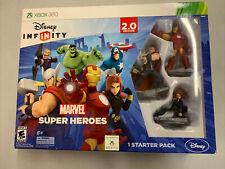 New listing Disney Infinity 2.0 Marvel Super Heroes 360 Starter Pack AVENGERS GAME NEW