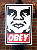 🔥 SIGNED Shepard Fairey OBEY ICON Original Print Poster Obey ANDRE Giant 24x36