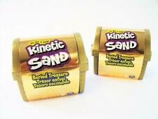 Set of (2) Kinetic Sand Buried Treasure, 6oz each - New in Box, Factory Sealed
