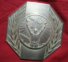 médaille en Bronze argenté ? FNA Bourthoumieux gilbert 1949 motomodèle juniors
