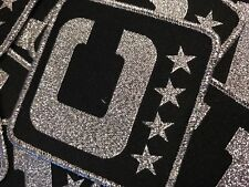 Oakland Raiders Team Captain 3D Patch  Stitched & Woven New style with Chrome.