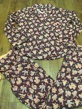 Victoria Secret Pajama SET Lightweight PJ 2 pc cotton floral paisley S XS New