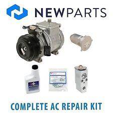 BMW E38 740i 740iL 1995 Complete AC A/C Repair Kit With Compressor & Clutch