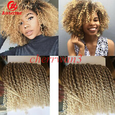 Short curly hair extensions ebay 3pcs 8 mali bob afro twist curly ombre kanekalon synthetic bulk hair extensions pmusecretfo Gallery