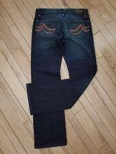 DKNY Downtown Brooklyn JR Womens Jeans Stretch Size 11    Dark Denim NWOT'S