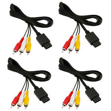 Lot4 AV Audio/Video TV Composite Cable for Nintendo N64 SNES Super GameCube 6FT