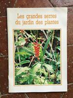 Las Grandes Invernaderos de La Jardín Plantas Museo Nacional Historia Natural