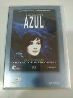 Tres Colores Azul Krzystof Kieslowski Juliette Binoche - DVD Nuevo - 3T