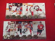 1992 93 Ultra Award Winners hockey set   Gretzky  Lemieux  12 cards