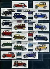 LAMBERT & BUTLER Cigarette Card Set - MOTOR CARS (Grey Back) 1934 - Austin Ford