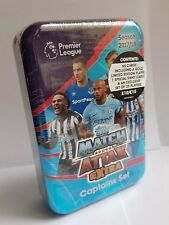 Topps Match Attax EXTRA Mega Tin BOX Captains SET 2017/2018 Trading Card Game