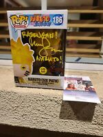 Funko POP! ANIMATION NARUTO SHIPPUDEN #186 SIX PATH GITD SIGNED with COA by JSA