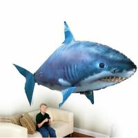 Flying Air Shark Toy Remote Control Fish Balloon Infrared RC Party Decoration