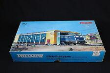 W284 VOLLMER Train Ho Maquette 5760 B Remise double locomotive electrique stall
