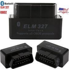 Car Bluetooth OBD2 Reader Code Scanner Automotive Diagnostic OBDII ELM 327 USA