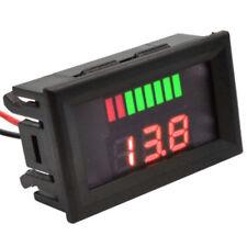 12V Digitale Display LED Batteria Auto Voltimetro Acido Elettrica Accs
