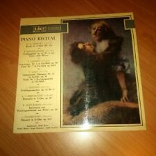 LP PIANO RECITAL JOKER SM 1022 EX-/EX-   ITALY PS 1969 PV
