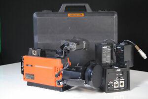 Working Vintage JVC KY 1900E Video camera (1982) +battery