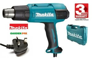 MAKITA - Electric Corded 240V - HEAT GUN - HG6531CK/2 - 0088381876018 .