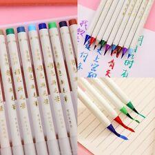 14x /Set Colorful Painting Brush Pen Watercolor Copic Arts Marker Pen Comic  POP