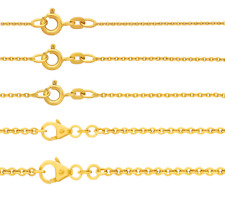 Kette Anker rund 333 Gold 1,1-2,4 mm 36 38 40 42 45 50 55 60 70 80 cm Binder