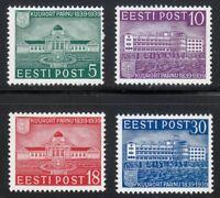 Estonia 1939 MNH Mi 148-151 Sc 144-147 Resort and baths at Parnu **