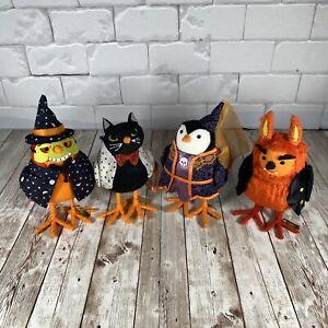 Lot of 4 Spritz Hide Eek Birds Halloween Cackles Whiskers Clawson Juliote Target