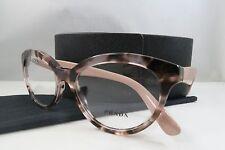 Prada VPR 11R ROJ-1O1 Pink Havana/Pink  New Authentic Eyeglasses 52mm w/Case