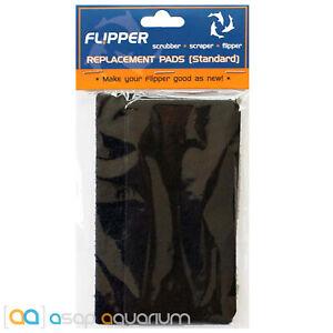 Flipper Standard Replacement Pads (2x Felt & 1x Scrubber Pad)