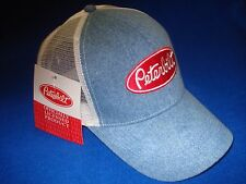 PETERBILT HAT:      Light Blue Denim / White Summer mesh Back    *FREE SHIPPING*