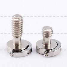 """Lange D-Ring Screw Stainless Steel für Kamera-Stativ-Schnellkupplung 1/4"""" L2s"""