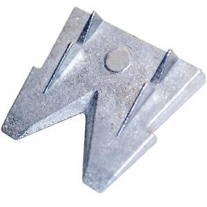 3x Hammerkeil für Stiele und Sprossen Axtstiel Beilstiel Metall Keil Größe 3