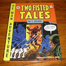 EC Archives Two Fisted Tales Volume 1, NEW! Dark Horse Comics hardcover,Kurtzman