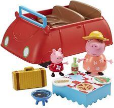 Peppa Pig  Vehículo Coche Deluxe Incluye figuras de Peppa Pig y Mamá Pig