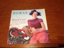 Rowan Patterns Beach Cool Over 16 Lois Daykin Designs  Linen Print &Cotton Braid