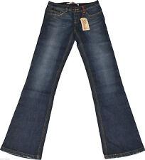 Faded Only Damen-Bootcut-Jeans niedriger Bundhöhe (en)
