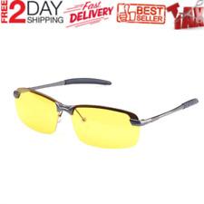 Night Vision Driving Glasses Polarized Sunglasses Anti Glare Sports Yellow Lens
