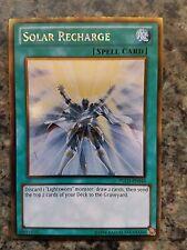 Solar Recharge - PGLD-EN046 - Gold Rare NM Yugioh Premium Gold