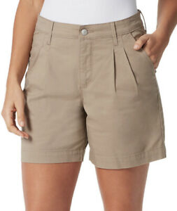 Women's GLORIA VANDERBILT Generation Pleated Shorts  Size 18 NWT