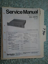 Technics SU-9070 service manual original repair book stereo amp amplifier