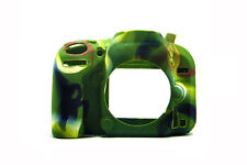 Camo Silicone Armor Skin Case Camera Cover Protector for Nikon D600 D610 DSLR