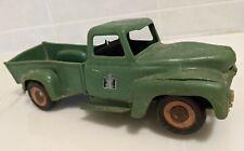 RARE Product Miniature International Harvester Plastic Green Pickup Truck Toy